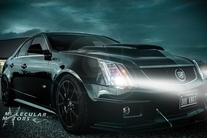 Cadillac cts-v Molecular motors Dark Knight
