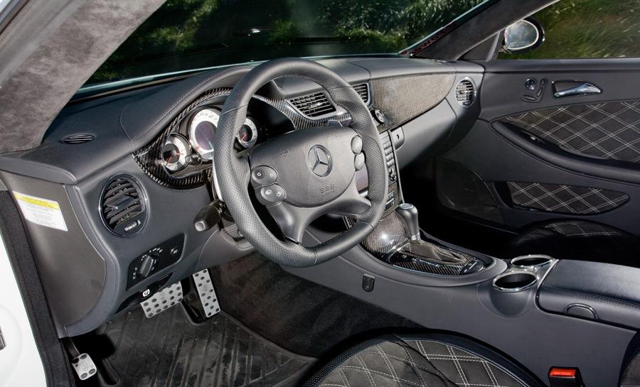 Molecular Motors CLS55 AMG interior